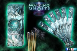 6 Packs Californian White Sage Incense Sticks Smudging Cleansing Ritual